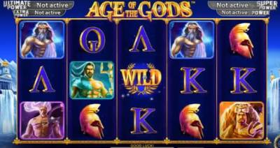 Age of the Gods is an accidental Greek god themes slot which happened when playtech lost the license of hits like The Avengers and Spiderman.