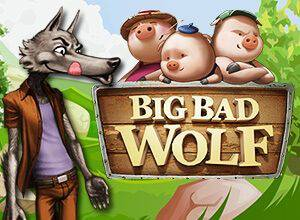 Big Bad Wolf slot is a fairy-tale themed slot that explores the story of the titular big bad wolf and the three little pigs and is created by Playtech-owned QuickSpin