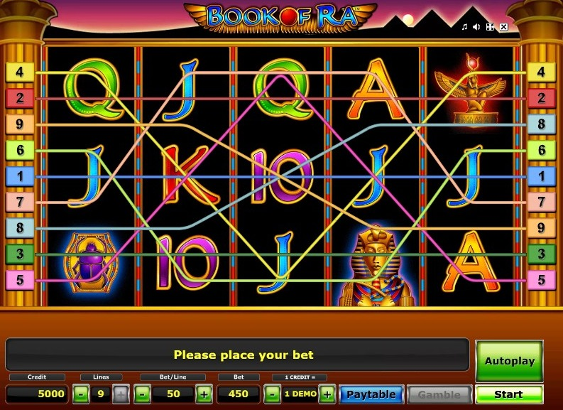 Book of Ra is the oldest but an important slot in the iGaming industry