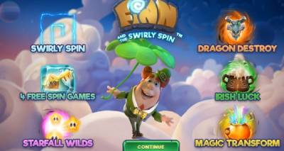 Finn and the Swirly Spin is an innovative slot game by NetEnt with a high RTP
