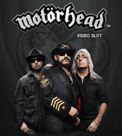 Motorhead slot is one of the most popular band based theme slots out there, with symbols including an Ace of Spades and the band's logo.