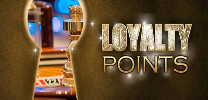 Build points and get loyalty points