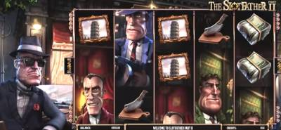 Slotfather game is a gangster theme and one of the best slots on the Betsoft roster that includes collecting money through any means necessary.