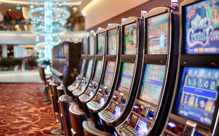 playing the slot game in high stakes game is great
