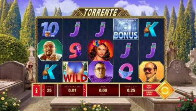 Torrente slots are based on a spanish movie series The Torrente which has proved to be hugely popular over the years.