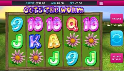 The Worms slot is based on the Team 17 video game Worms with a high variance