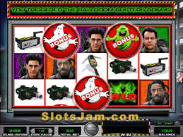 Ghostbusters slot includes music and images from the classic 1980s TV series and has a feature starring the lovable green glob Slimer.